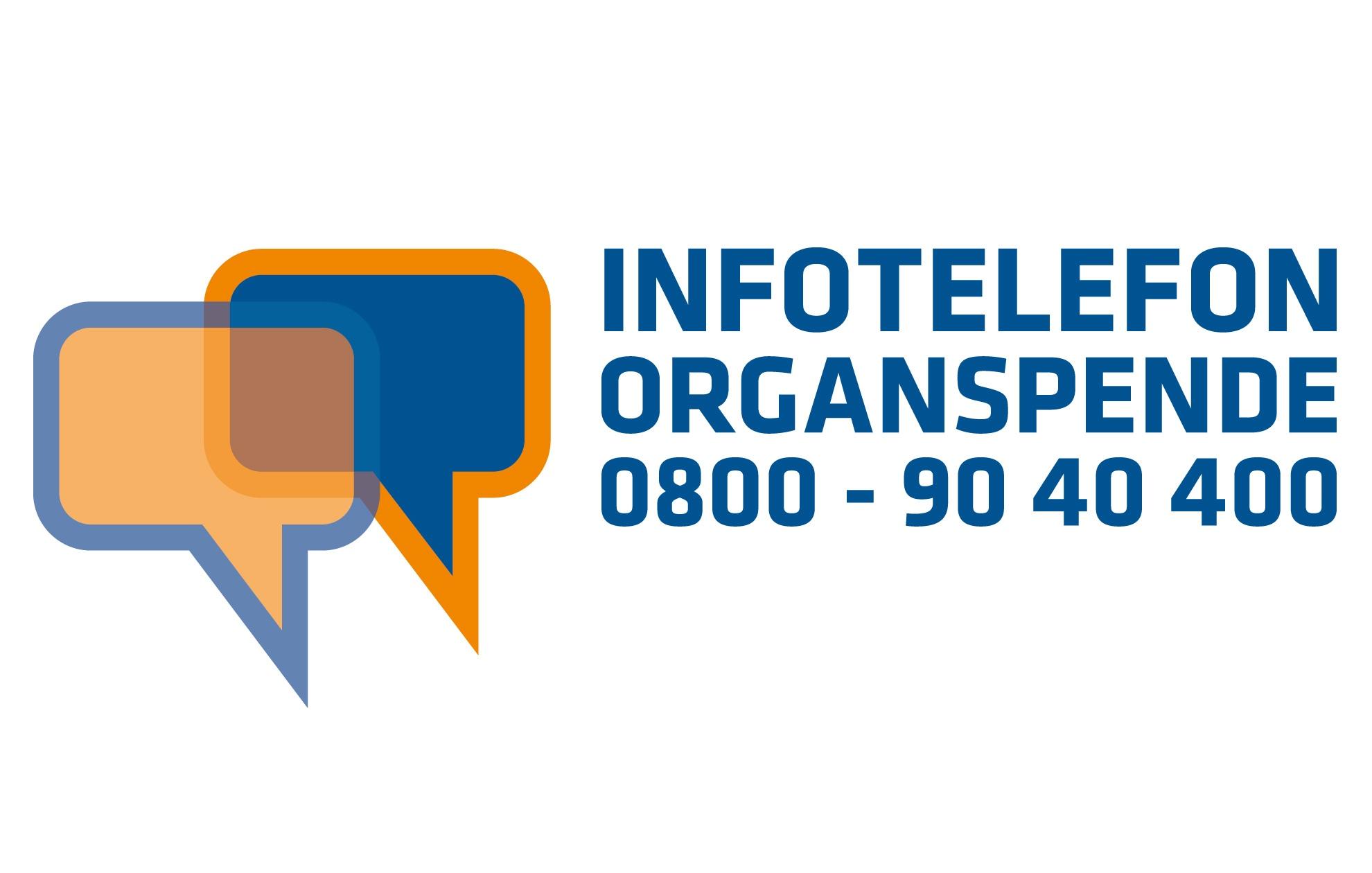 Markenzeichen Infotelefon Organspende