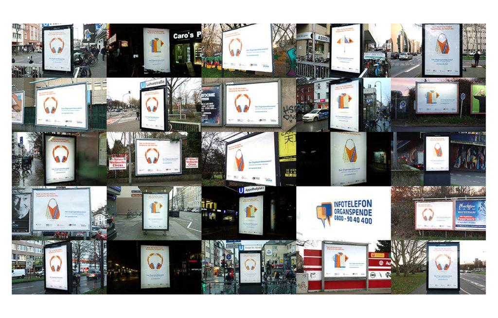 Plakate-Infotelefon-Organspende